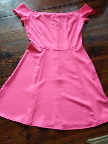Sukienka różowa H&M rozmiar 36