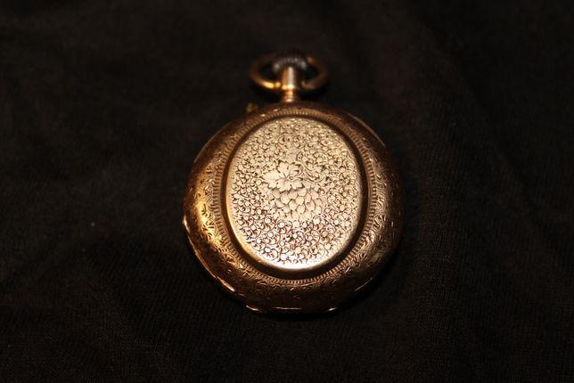 Zegarek złoty zabytkowy z herbem