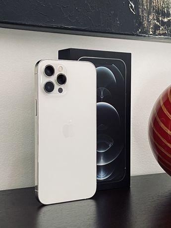 iPhone 12 Pro Max Silver/ White   128 GB   Fatura e garantia