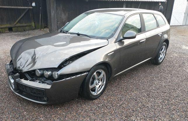 Alfa Romeo 159 1.9 2007r uszkodzony przód