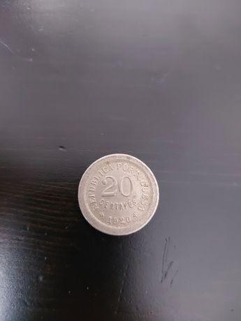 Moeda de 20 Centavos 1920