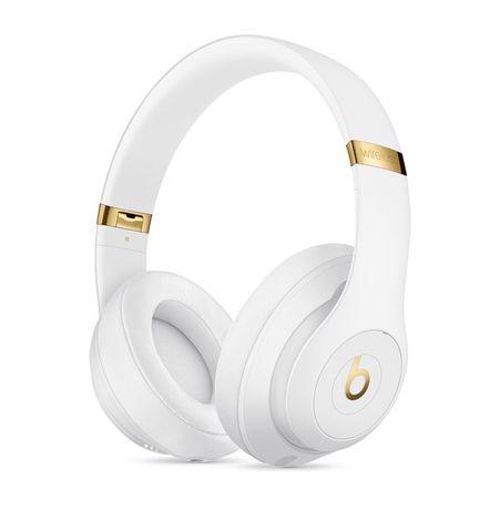 Bezprzewodowe słuchawki wokółuszne BeatsStudio3 Wireless – białe Apple