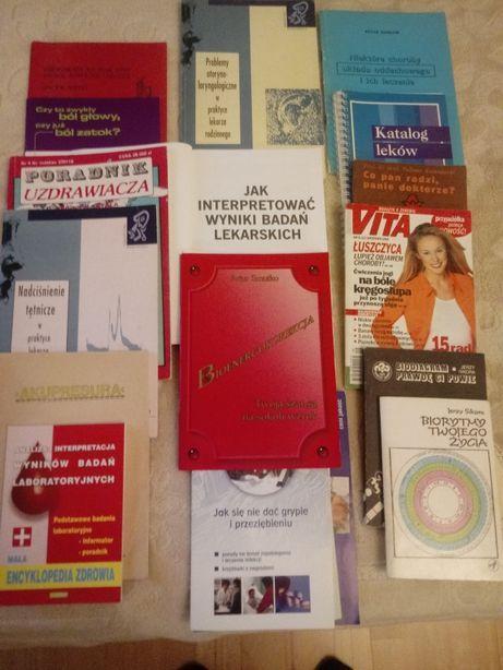 Medycyna naturalna, paramedycyna, poradniki, i.t.p.