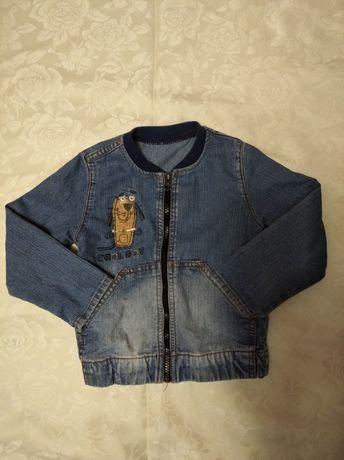 Джинсова куртка пиджак