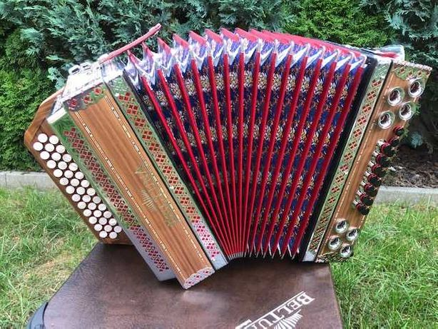 Akordeon harmonia diatoniczna Beltuna Alpstar