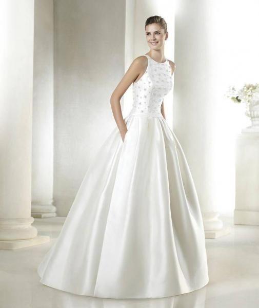 Suknia ślubna 36/38 Lubin - image 1