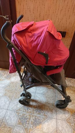 Прогулянкова коляска -тростина EL Camino Breez ME 1029 Pink .