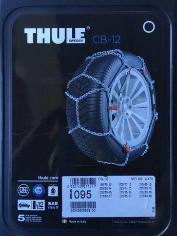 Nowe nie używane łańcuchy śniegowe THULE CB-12 rozmiar 95
