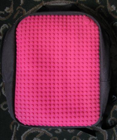 Стильный и модный детский рюкзак Upixel Classic Зеленый с розовым фоно