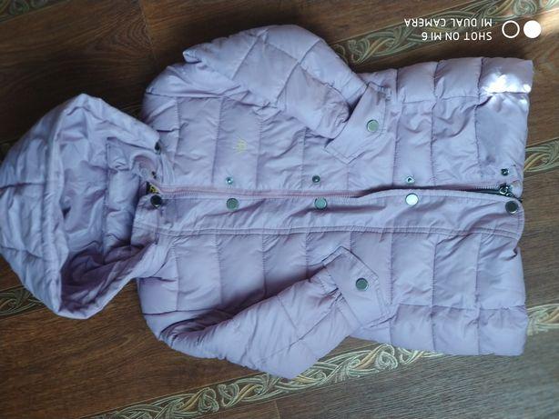 Пальто- куртка деми( холодная осень ) на 110