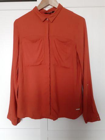 Pomarańczowa koszula Top Secret