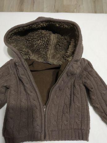 Bluzko kurtka zimowa chłopiec