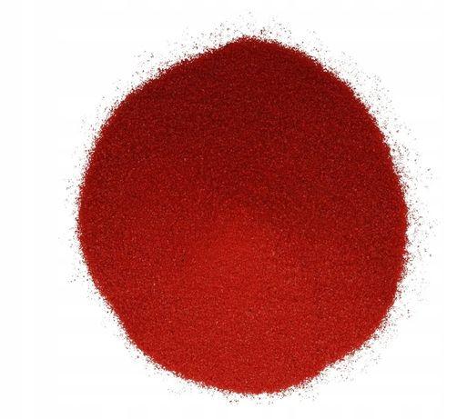 B0 Czerwony Piasek do AKWARIUM, kwarcowy, suszony, Najwyższa Jakość