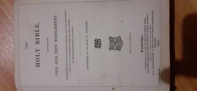 Продам Біблію 1872 року випуска