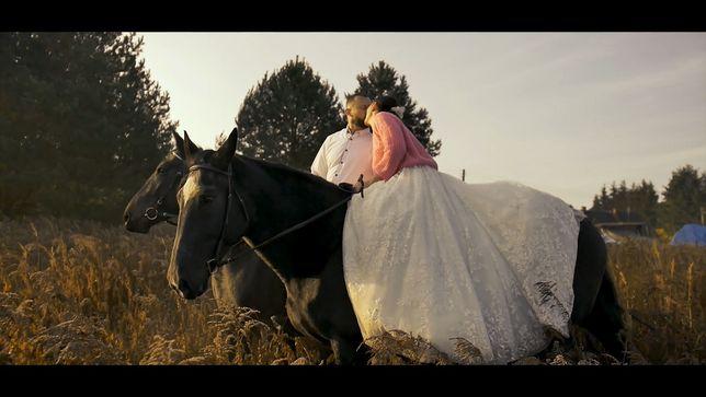 Kamerzysta na ślub z dronem | Film ślubny | Montaż filmów | Dron