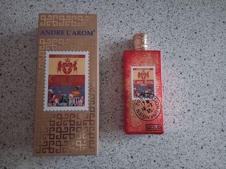 Туалетная вода духи мужские Andre L'arom Carta Royal Gold 100 ml новые