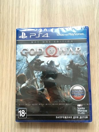 God of war 4 диск ps4 обмен или продажа