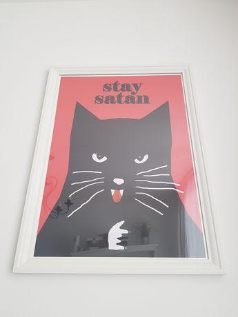 Plakat Jakub Zasada w ramie Ikea 50x70