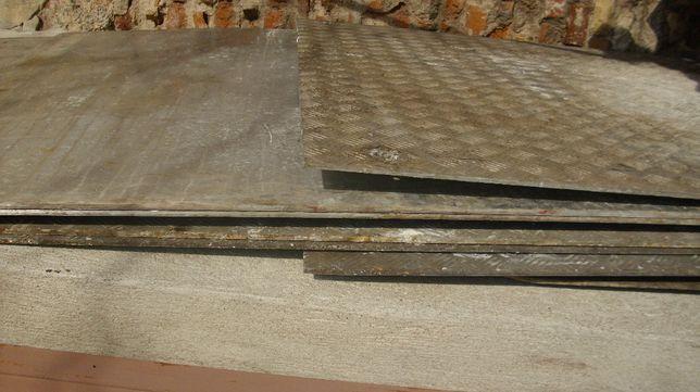 Blacha aluminiowa 8mm ryflowana