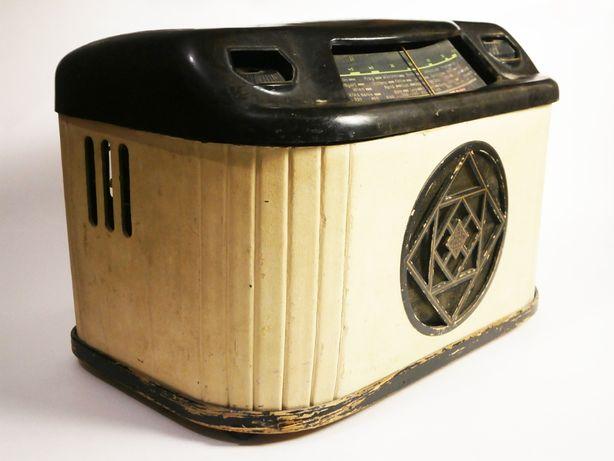 Винтаж Радио Telefunken 4347 GWK Tube 1947 г.в.