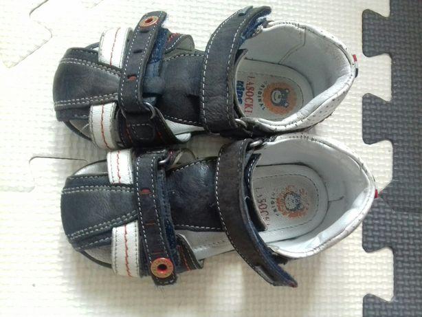 sandaly lasocki skorzane sandalki 22