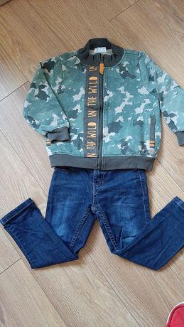 Coccodrillo bluza +spodnie