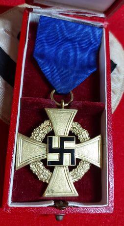 40 anos c/caixa Alemanha nazi-suástica ORIGINAL