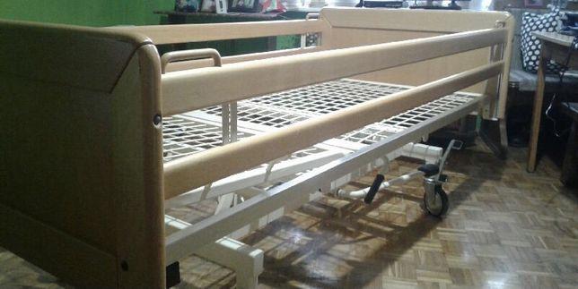 Łóżko rehabilitacyjne ortopedyczne medyczne  dla chorego Manualne