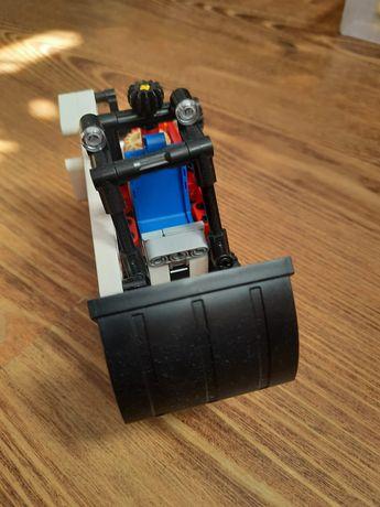 Lego technik koparko auto