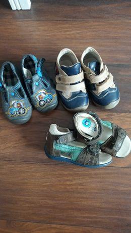 Buty sandały pantofle Befado cena za całość