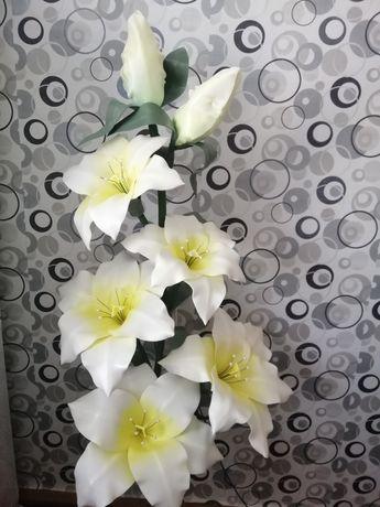Ростовая Лилия, цветы из изолона.