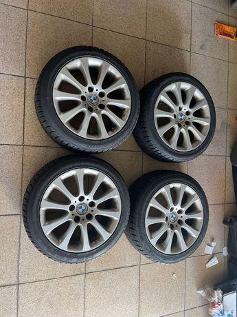 """Jantes 17"""" originais BMW E46 Exclusive com pneus 225/45 17"""