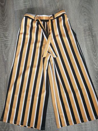 Spodnie kuloty dziewczęce