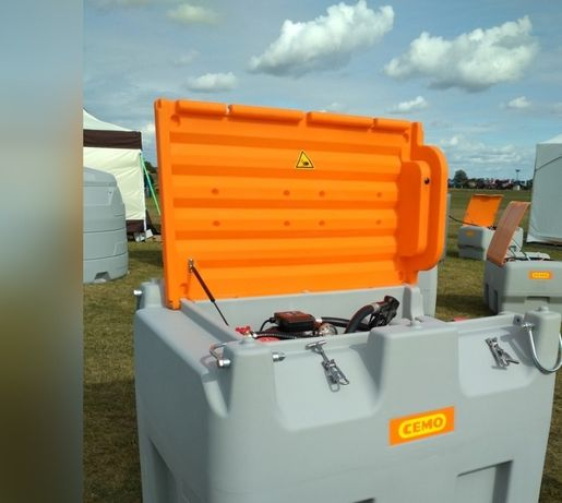 Zbiornik mobilny Cemo DT-Mobil Easy 980 l do ON
