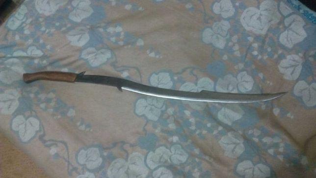 Эльфийский меч полуторник ручной ковки