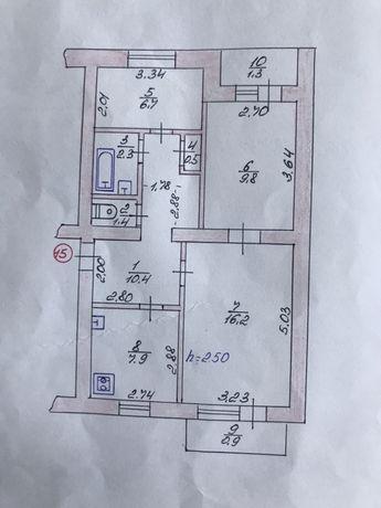 Продам квартиру 3х кімнатну