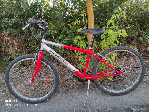 Bicicleta Scorpion (roda 24) - 18 velocidades Shimano