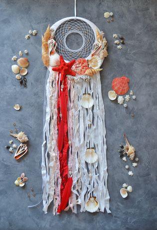 Морской ловец снов с ракушка подарок для девушки