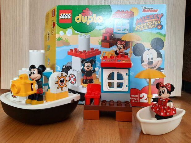 Lego duplo 10881 łódka Mikiego Minnie Disney