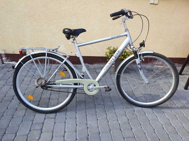 Niemiecki Rower Miejski ALU CITY STAR  28 - 7 BIEGÓW W PIAŚCIE