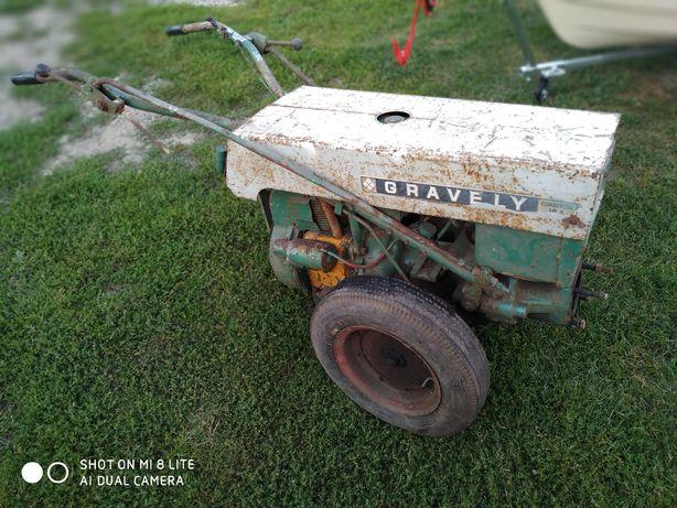 Traktorek ogrodowy Gravely dzik silnik Kohler 10KM.