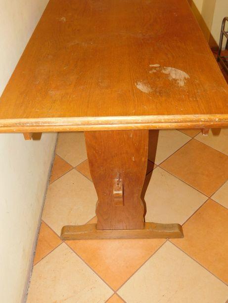 Stół blat dębowy kuchenny rozkładany 180 cm na 70cm