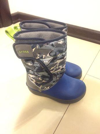 Зимние сапожки crocs