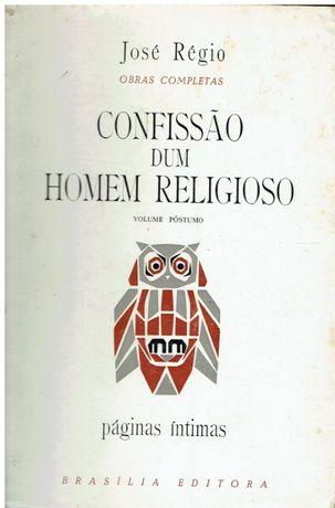 6860 Confissão dum Homem Religioso. de José Régio 1ª edição. 1971