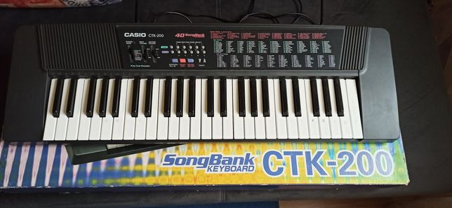 Keyboard organy Casio CTK-200