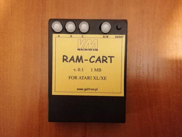 RAM CART 1 MB , 2MB lub 4 MB do Atari XL / XE