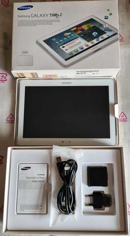 Планшет Samsung Galaxy Tab 2 10.1 3G GT-P5100 White.
