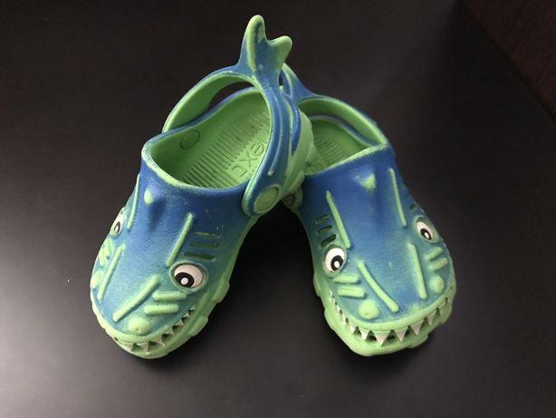Сабо Next Акула размер 5 ;13 см (Кроксы Crocs, шлёпки, аквашузы)