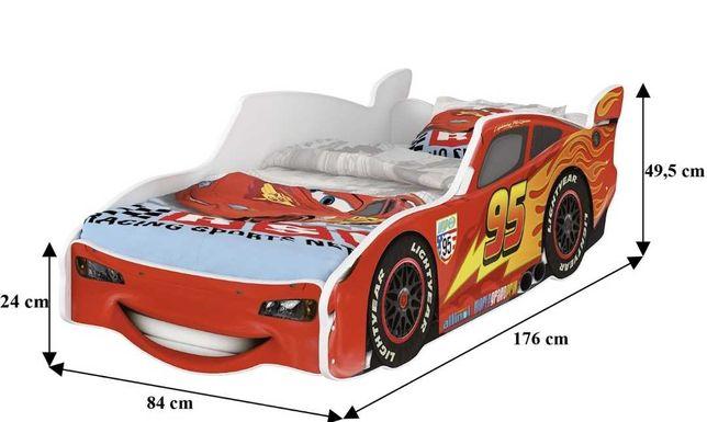 Łóżko dziecięce Zygzak McQueen
