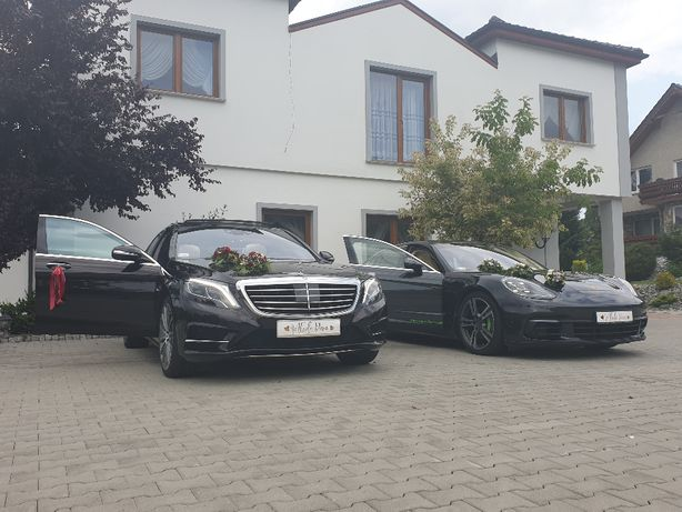 Auto do ślubu Samochód na wesele wynajem Mercedes Porsche